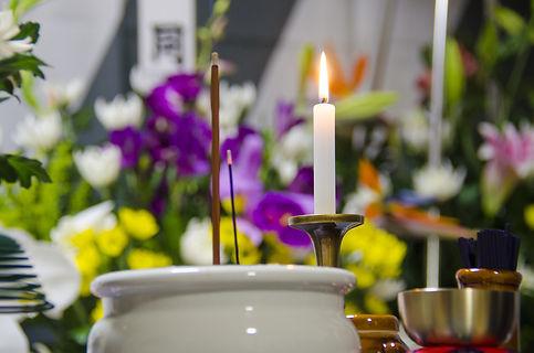 お葬式の花