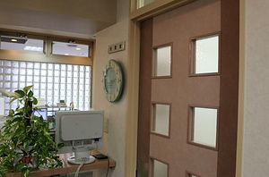 診察室の入口