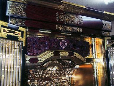 仏壇の屋根