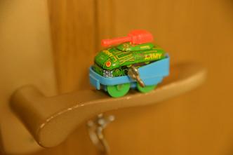 洗車のおもちゃ