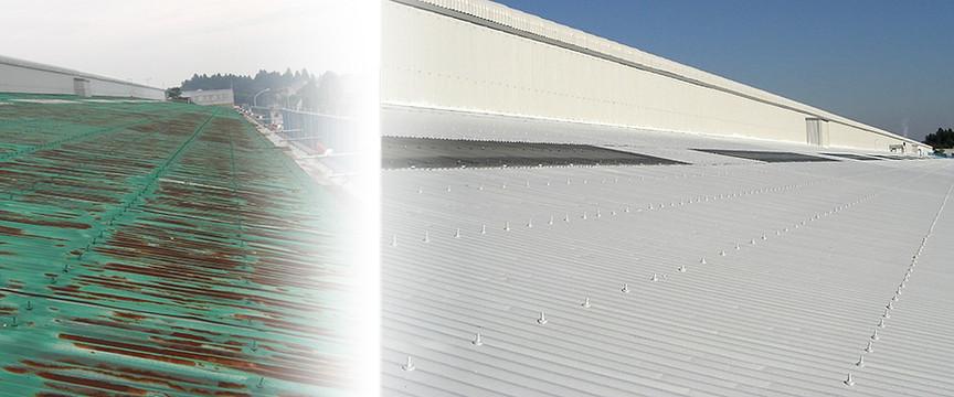 屋根塗装例