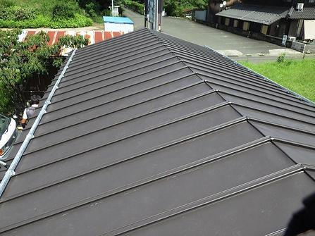 茸き替え金属屋根