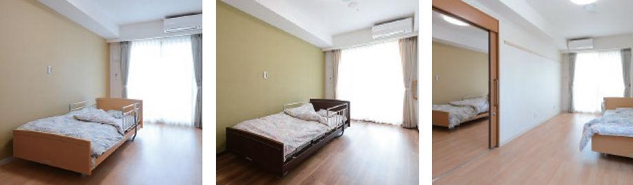 3部屋の居室