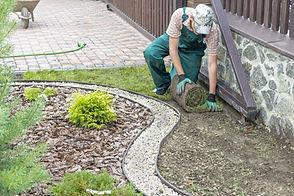 お庭の管理