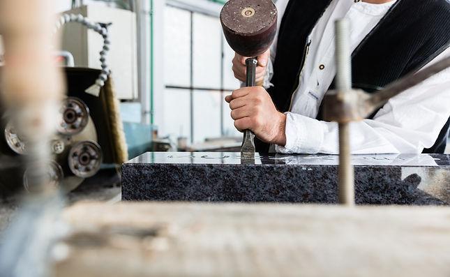 石材の加工