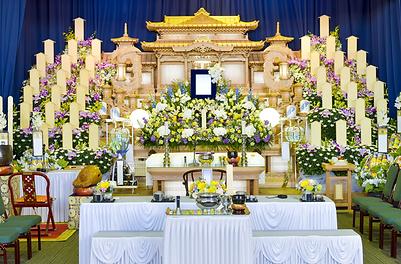 敬愛ホール 祭壇コース