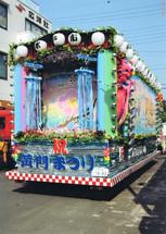 水戸黄門祭り山車
