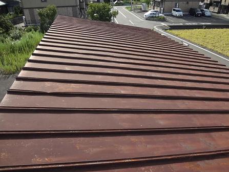 赤さび金属屋根