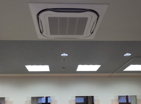 空調・内装改修工事