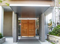 マンションの自動ドア