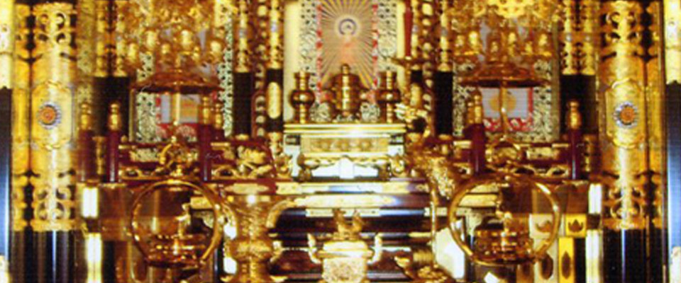 金色の仏壇
