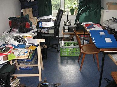 Disorganised room