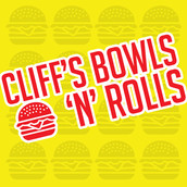 Cliff's Bowls n Rolls Logo