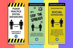 Social Distancing Banners Social Post.pn