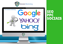 SEO, PPC e Sociais | Romariz Marketing