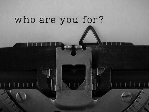 Who Are You For?