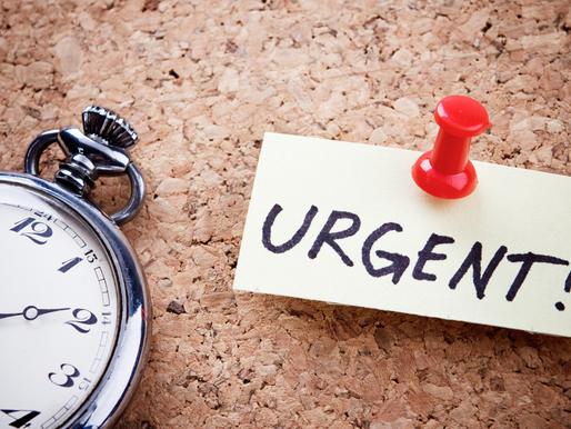 The Tyranny of Urgent