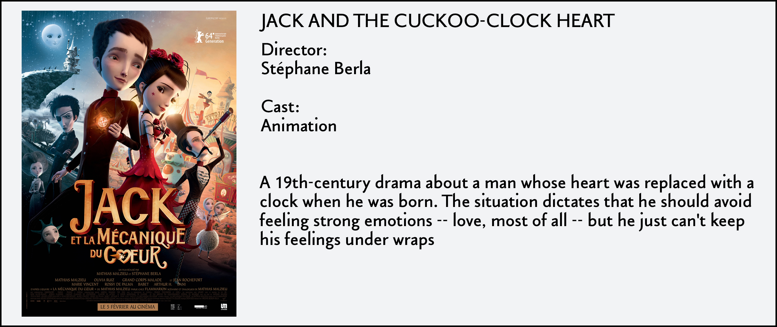 Jack & The Cuckoo-Clock