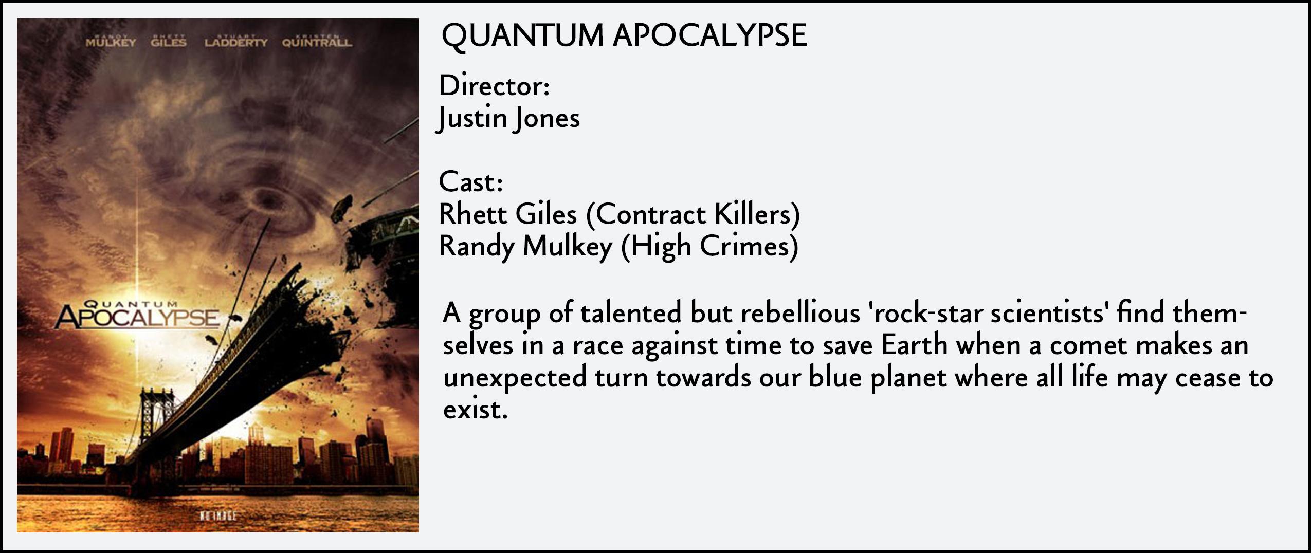 Quantum Apocolypse