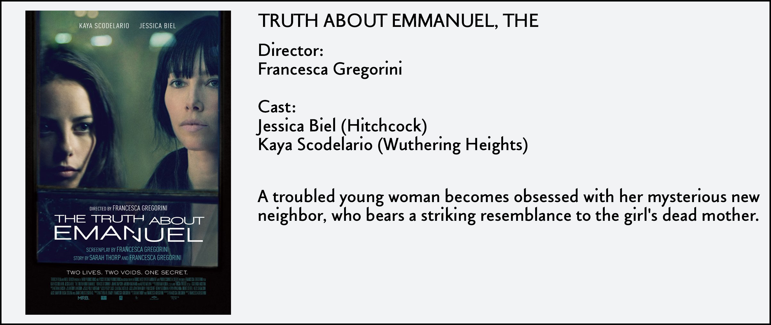 Truth About Emmanuel