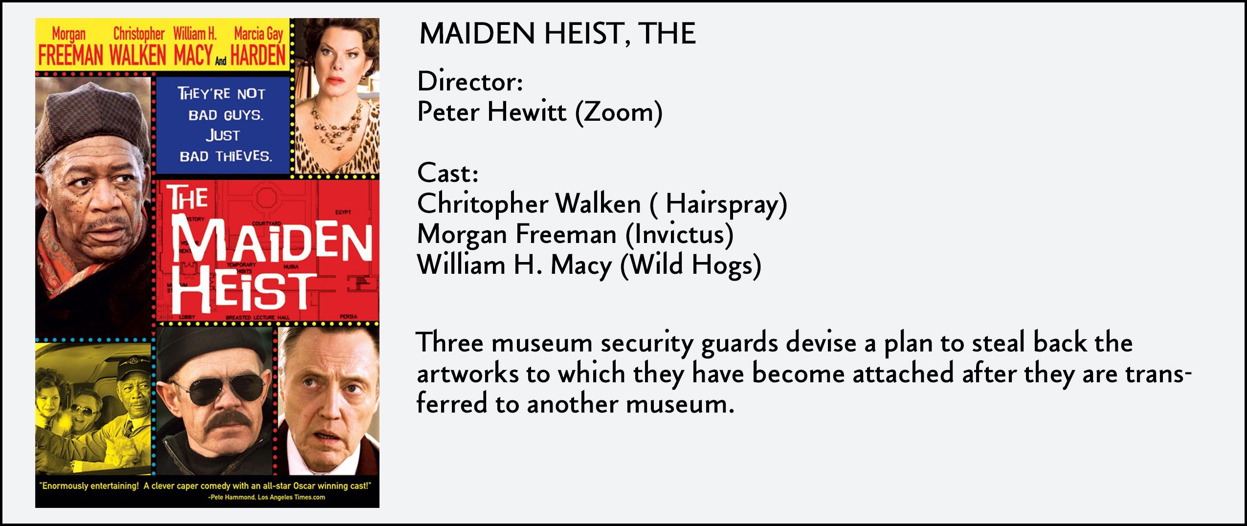 Maiden Heist