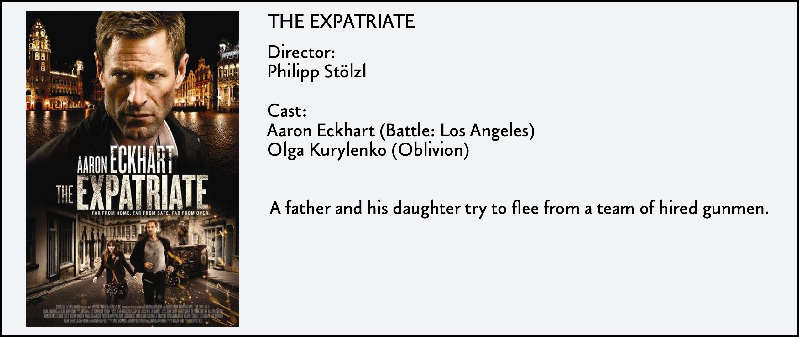 Expatriate, The