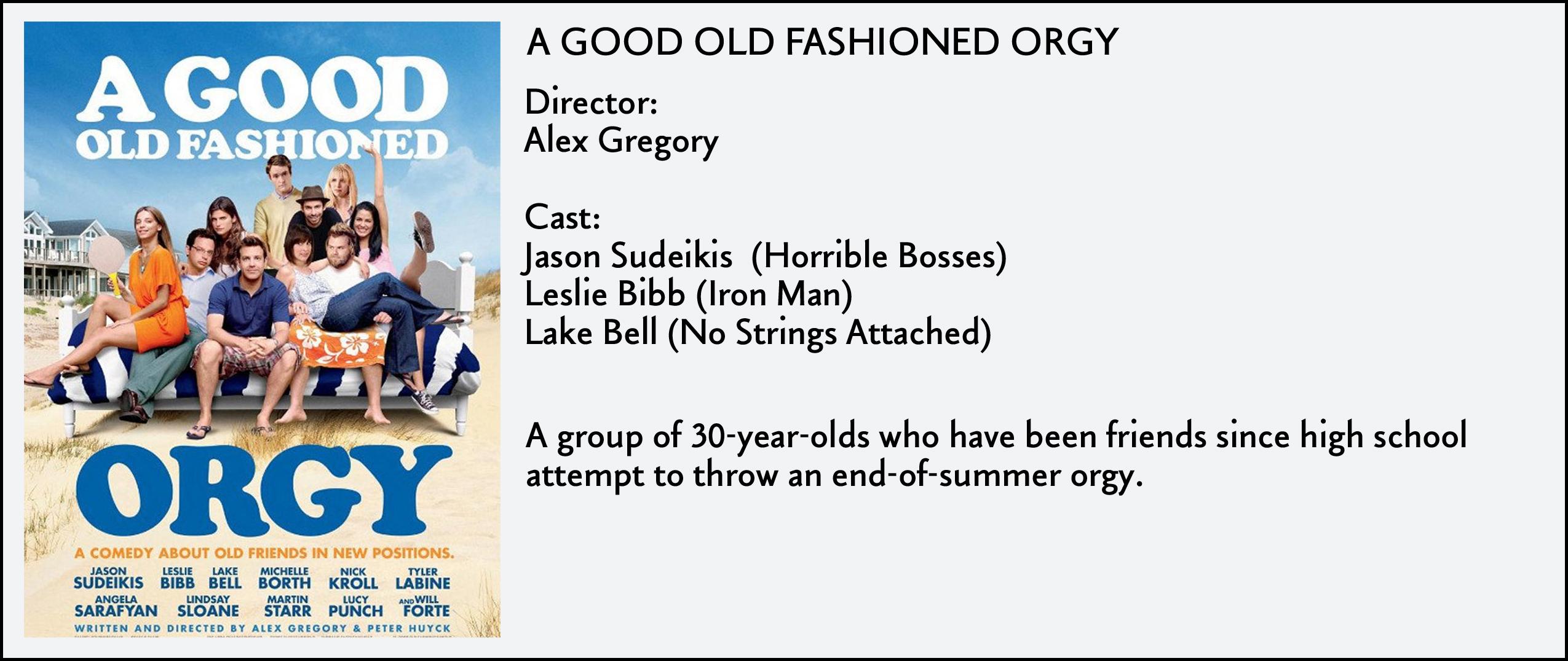 Good All Fashion Orgy