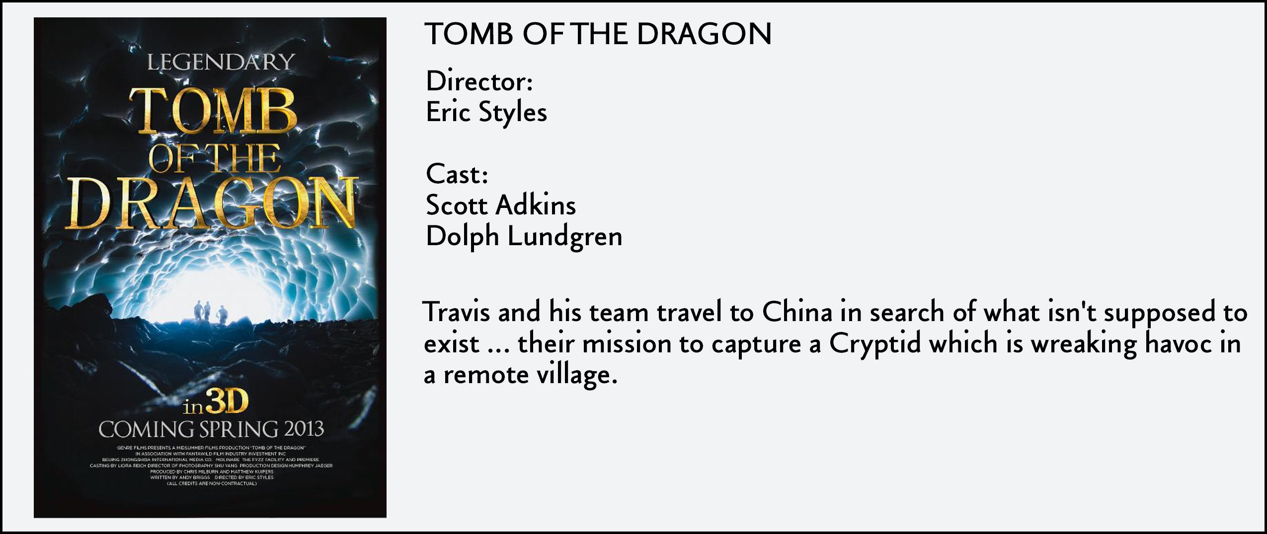 Tomb Of The Dragon