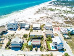 Arial Showing Beach Access