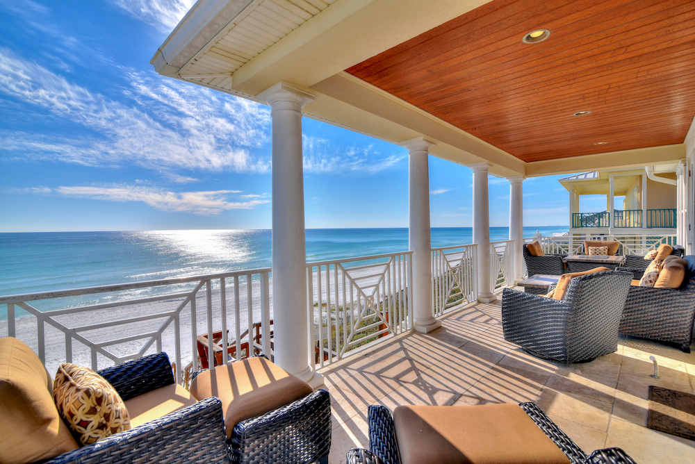 Porch Facing Ocean