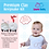 Thumbnail: Laura Baby and Pet Premium Ornament Keepsake Kit and Footprint Kit -