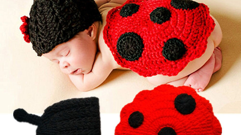 Baby Caps Winter Hat NewbornCrochet Knitted Insects Winter