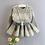 Thumbnail: Winter Baby Girls Clothing Set Turn Down Collar Knitting
