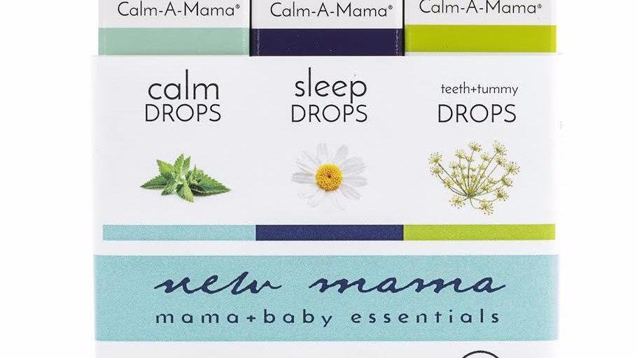 New Mama Gift Set - USDA Organic - Pregnant or Nursing Mom & Baby Safe