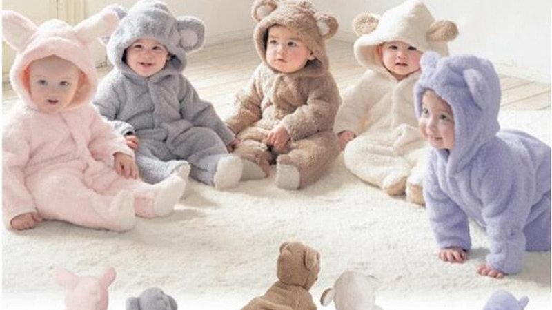 Newborn Baby Romper Winter CostumeJumpsuit