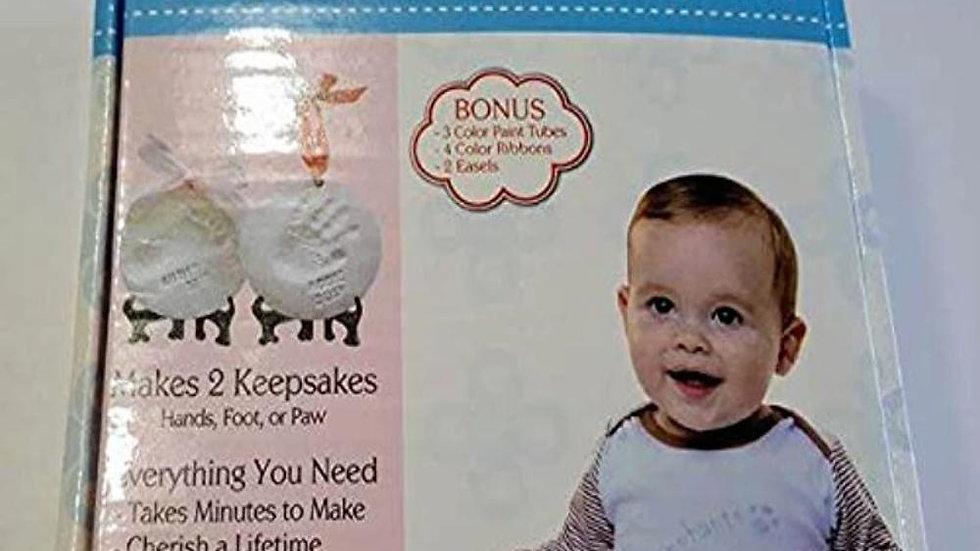 Laura Baby and Pet Premium Ornament Keepsake Kit and Footprint Kit -