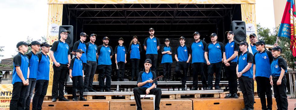 Tambours Union Vétroz