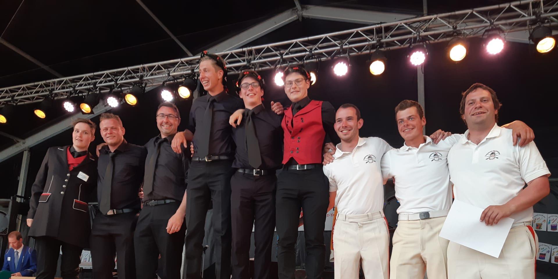 podium Groupe Tambour 1