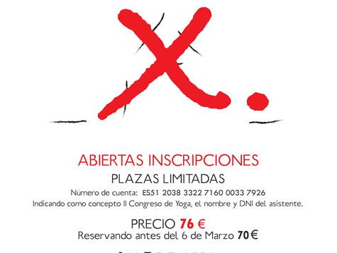 II Congreso Yoga Castilla la Mancha