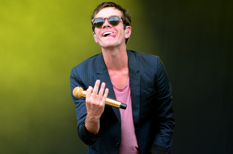 Nate Huess, lead vocalist for Fun., performs at Austin City Limits Oct. 11, 2013 in Zilker Park. AUSTIN HUMPHREYS/UNIVERSITY STAR