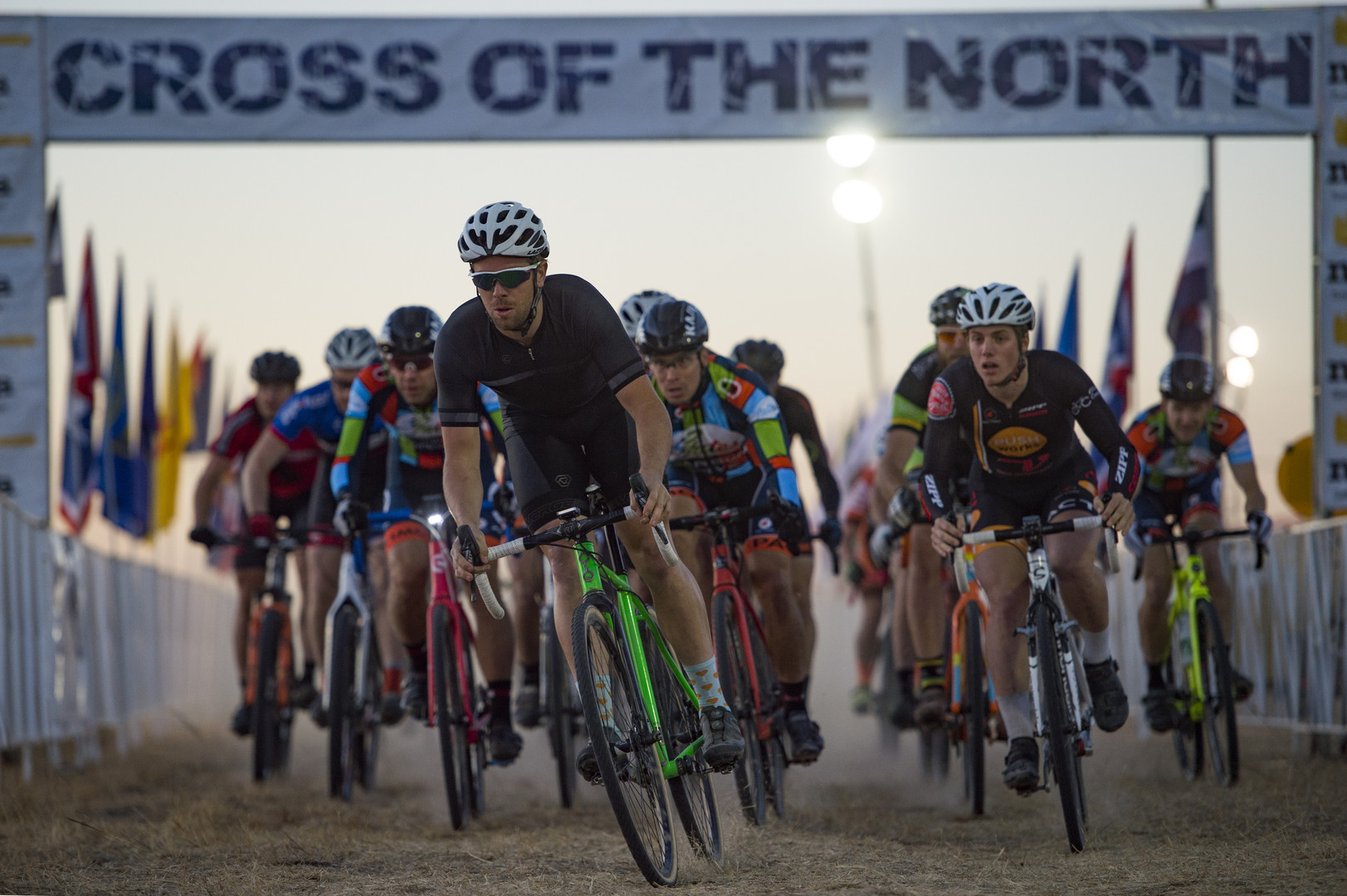 Riders compete in a single-speed race at Cross of the North in Loveland Friday, October 7, 2016. AUSTIN HUMPHREYS/THE COLORADOAN