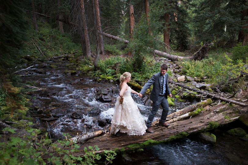 Ewald & Hurst wedding in Aspen, Colorado. I'm available to shoot your wedding.