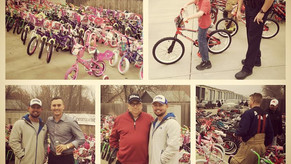 $3,725 to buy bikes for kids in need