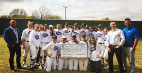 $1,000 for Berryhill Booster Club to buy new lawn mower