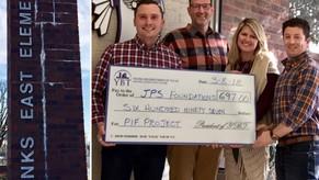 $697 for the Jenks Public School Foundation