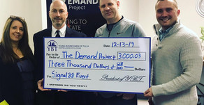 $3,000 Raised For The Demand Project