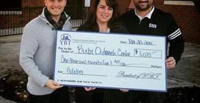$1,025 raised for the Bixby Outreach Center