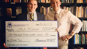 $1,700 for ORU Missions