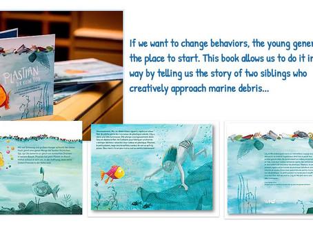 Linpac sponsors children's book on Marine Litter