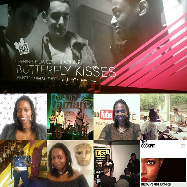 #June was busy! #actorslife #actress #ButterflyKisses #BritainsGotFashion #VlogStars #threeactsfilm
